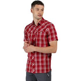 Regatta Honshu V Camiseta Hombre, delhi red check